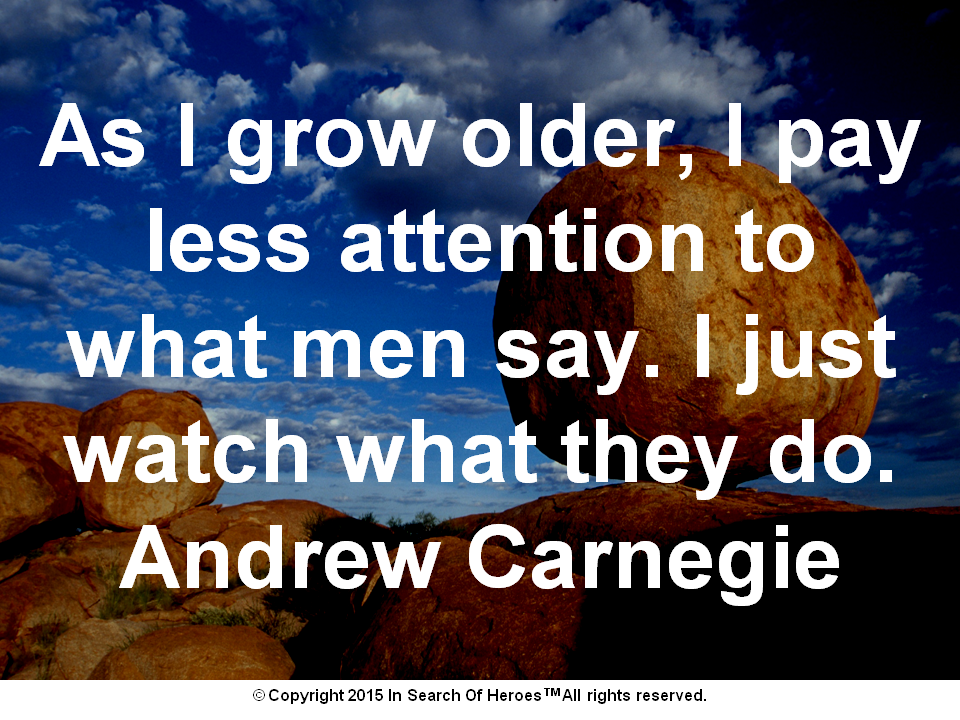 Andrew Carnegie Archives - Learn How To Be A Hero To Your